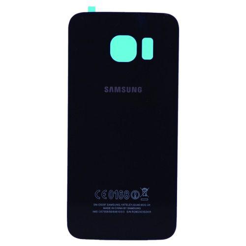 Tampa Traseira Vidro Samsung Galaxy S6 Edge G925  PRETO