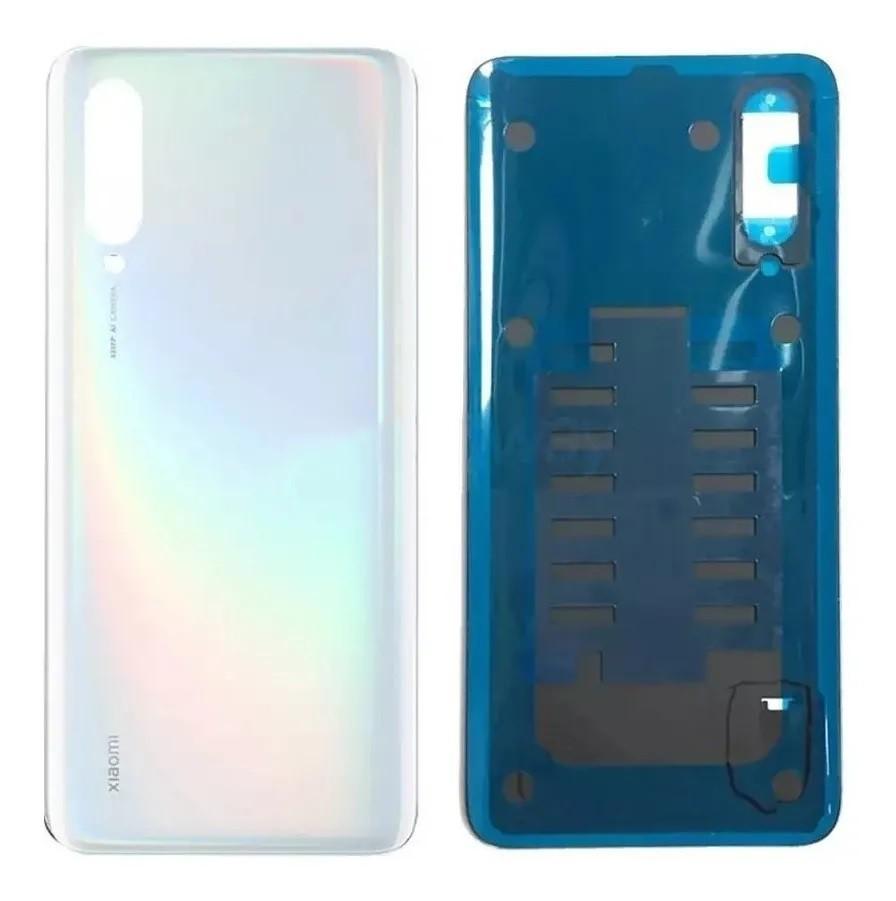 Tampa Traseira Vidro Traseiro Xiaomi Redmi 9 Mi 9 Mi9 Branco Furta cor