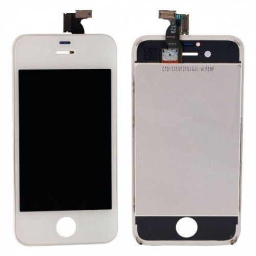 Tela Display Lcd Frontal Touch Screen Iphone 4 4G A1349 A1332 Branco