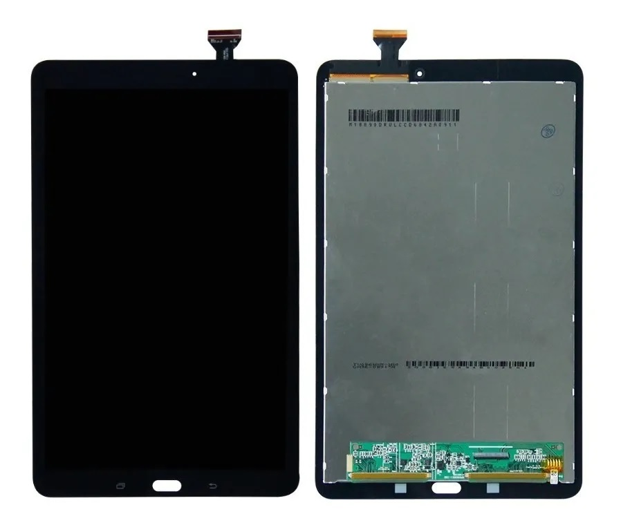 Tela Frontal Completa Display Touch Tablet Samsung Galaxy Tab E 9.6 Sm T560 T561 Preto