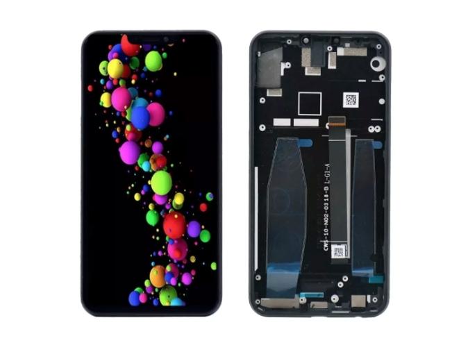 Tela Frontal Display Asus Zenfone 5 ZB620KL ZS620KL Preto com Aro