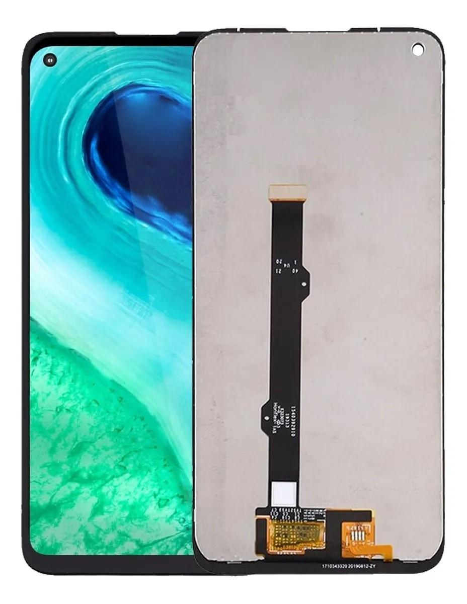 Tela Frontal Display Moto G8 MotoG8 XT2045 6.4 Xt2045-1 Xt2045-2 Xt2045-5 Preto