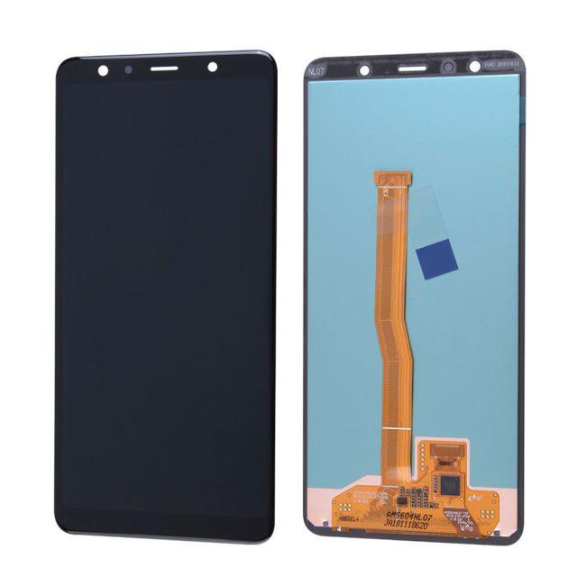 Tela Frontal Display Oled Samsung Galaxy A7 2018 A750 Oled sem aro preto