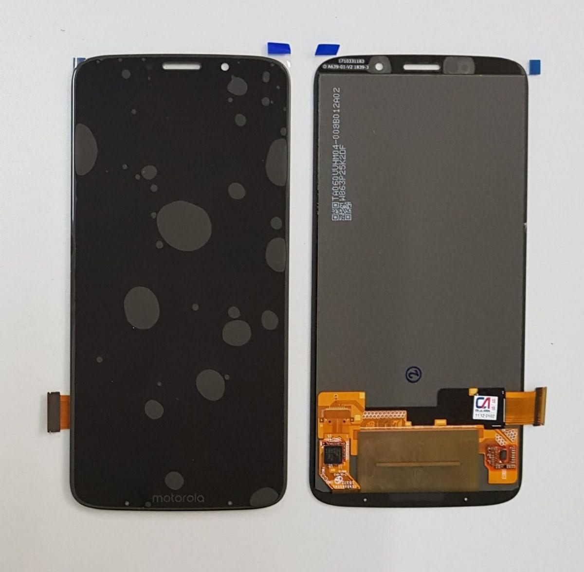 Tela Frontal Lcd Display Motorola Moto Z3 Play Xt1929 Preto