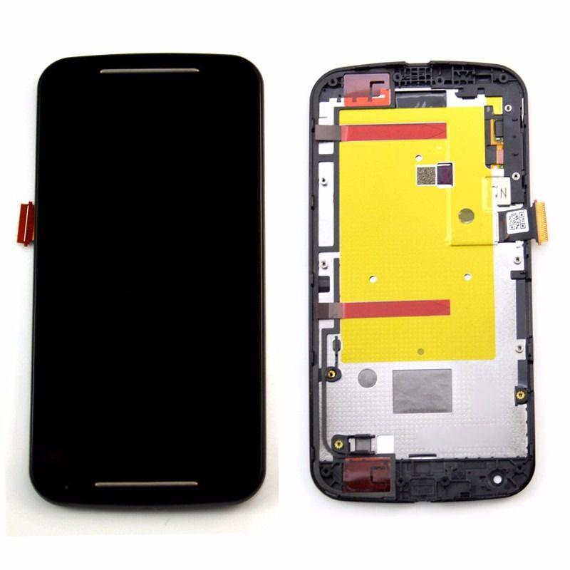 Tela  Frontal Touch Display LCD Moto G 2 Geracao G2 Xt1068 Xt1069 Dtv Moto G2