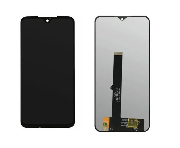 Tela Frontal Touch Display Lcd Samsung A20s A207 A207m Preto sem aro