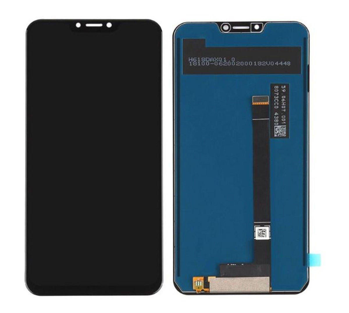 Tela Frontal Touch e Display Asus Zenfone 5 ZB620KL ZS620KL Sem aro Preto