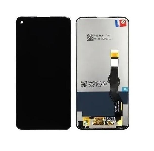 Tela Frontal Touch e Display LCD Moto G8 Power / MotG8 power  XT2041 Preto