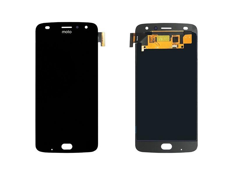 Tela Frontal Touch e Display LCD Motorola Moto Z2 Play XT1710 Preta Incell