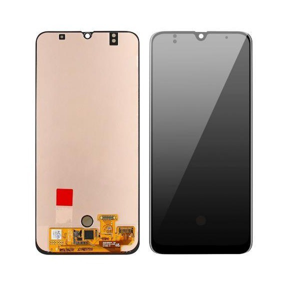 Tela Frontal Touch e Display LCD Samsung A50s A507 Preta Incell