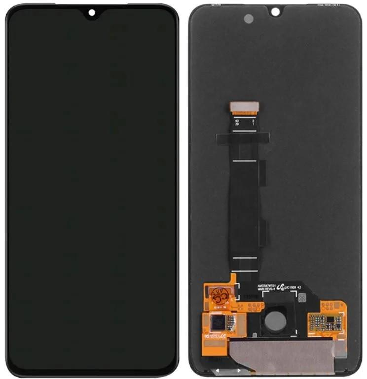 Tela Frontal Touch e Display LCD Xiaomi MI 9 MI9 Preto Oled