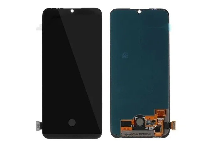 Tela Frontal Touch e Display LCD Xiaomi Mi A3 MiA3 Redmi MIA3 Preta Oled Com Biometria