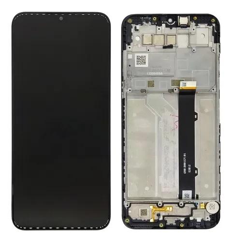 Tela Frontal Touch e LCD LG K41s K410 LMK410 BMW Preta Com Aro