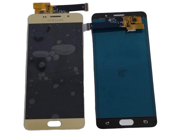 Tela Frontal Touch Lcd Galaxy A5 A510 2016 Dourado