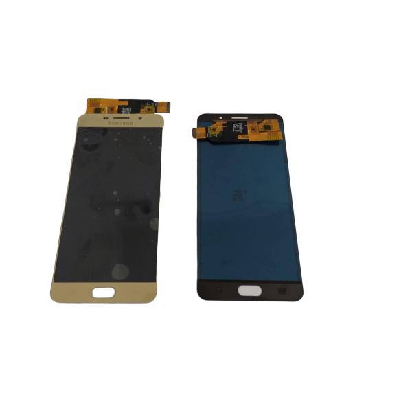 Tela Frontal Touch Lcd Galaxy A7 A710 2016 Dourado