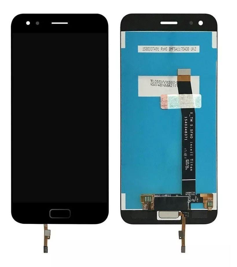 Tela Modulo Frontal Display Touch Zenfone 4 Ze554kl Z01kd Preto sem aro