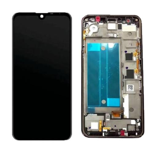 Tela Touch Display Lcd LG K12 Prime / K12 Max /  X525 X520 K50 Q60 M0223 Preto Com aro
