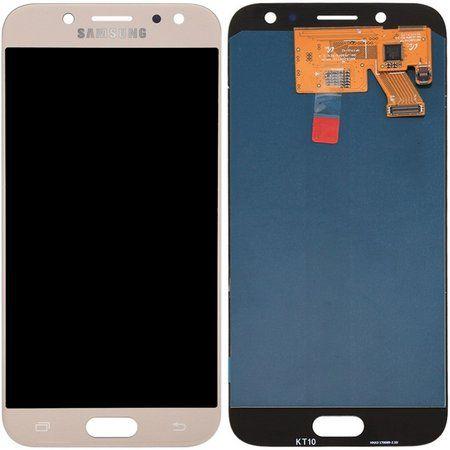Tela Touch Display Lcd Samsung Galaxy J5 Pro J530 Dourado 1° Linha com Reg de Brilho