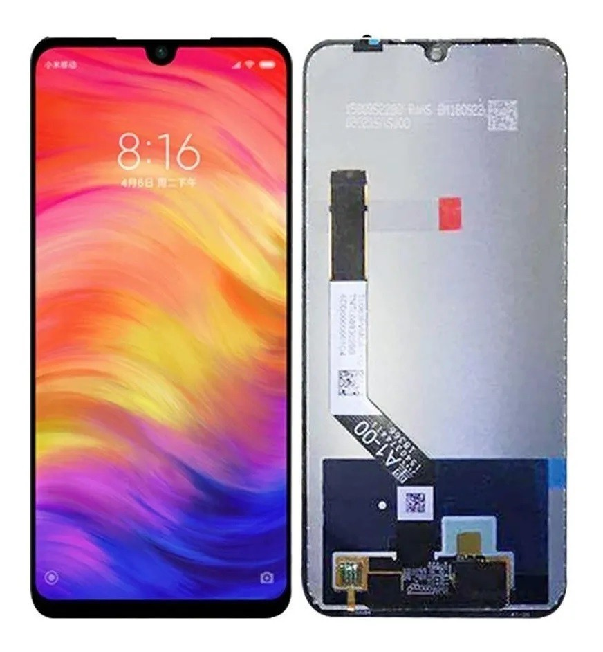 Tela Touch Display Lcd Xiaomi Redmi Note 7 / Redmi Note 7 Pro Preto Preto sem aro