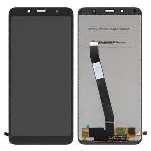 Tela Touch e Display Xiaomi Redmi 7A / Redmi 7a Preto Sem aro