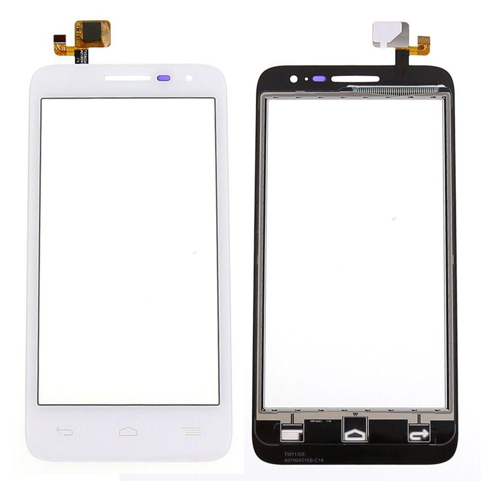 Tela Touch screen Frente   Alcatel One Pop D5 Ot5038 5038 5038a 5038  BRANCO