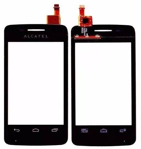 Tela Touch screen Frente  Alcatel Onetouch Pop 4010 Ot 4010 4010x PRETO