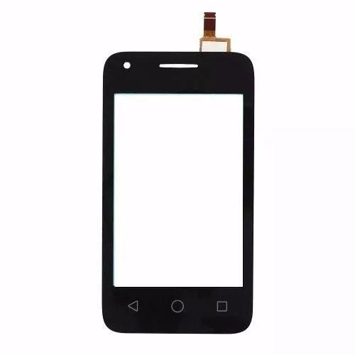 Tela Touch screen Frente   Alcatel Pixi 3 Pixi3 Ot-4009e 3.5 PRETO