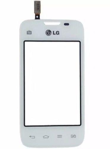 Tela Touch screen Frente   Lg Dual Tv L35 D157 D157f  BRANCO