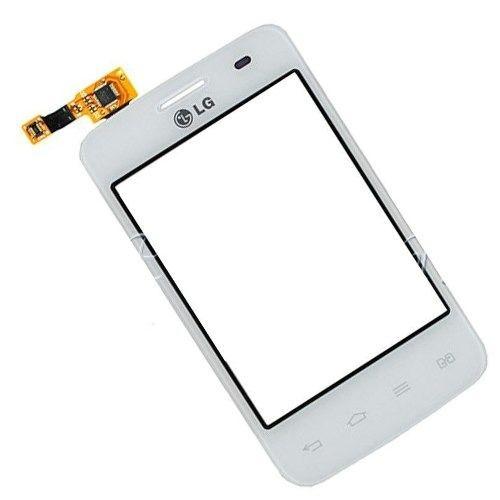 Tela Touch screen Frente  Lg E435 Op BRANCO