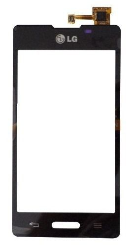 Tela Touch screen Frente   Lg E450 E460 L5 Ii Novo  PRETO