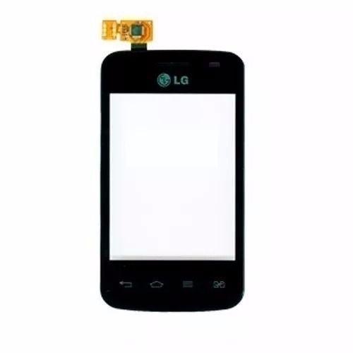 Tela Touch screen Frente   Lg E475 L1 Tri Chip PRETO