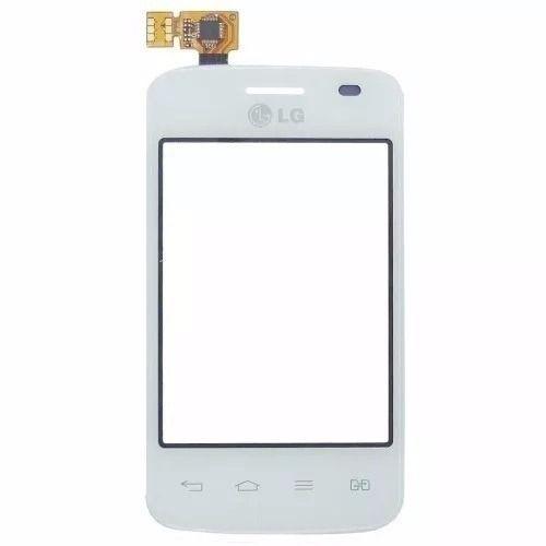Tela Touch screen Frente   Lg E475 L1 Tri Chip BRANCO
