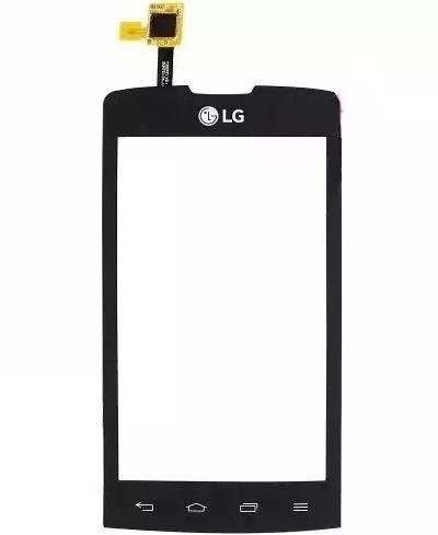 Tela Touch screen Frente  Lg Joy Dual H220 PRETO
