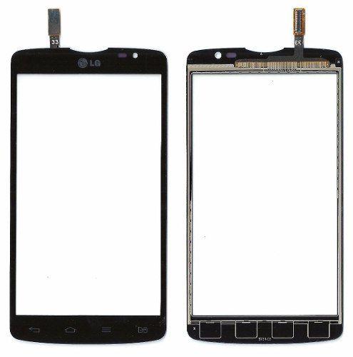 Tela Touch screen Frente  Lg L80 D380 D385 Dual 5.0 Tv preto