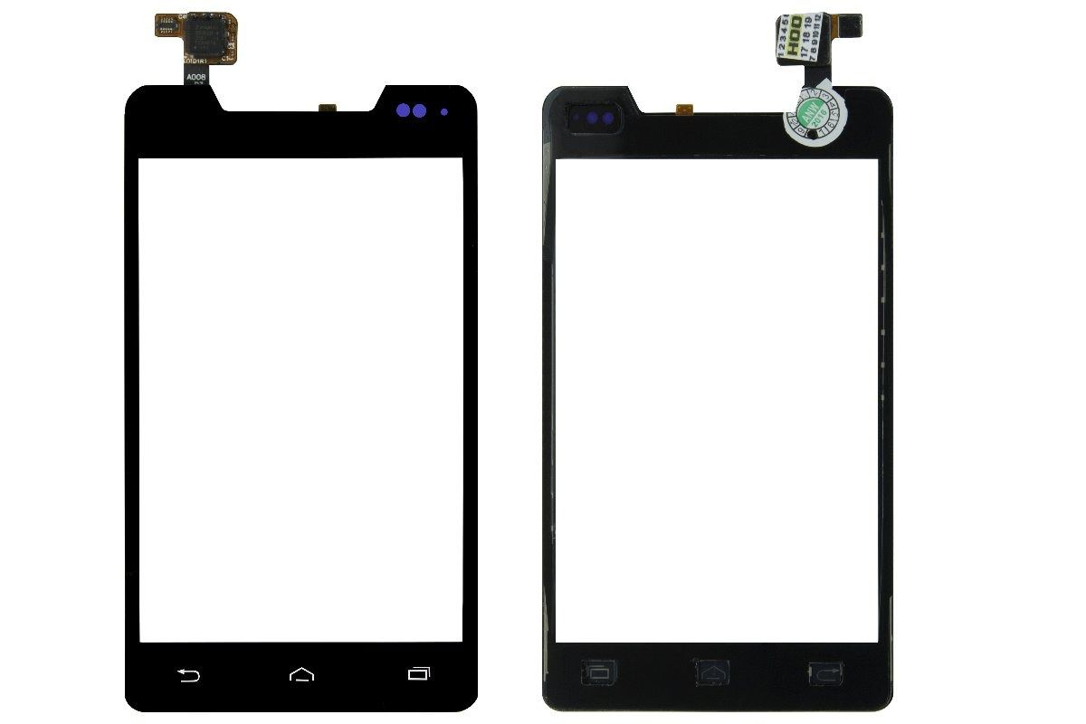 Tela Touch screen Frente  Motorola Razr D1 Xt914 Xt916 Xt918 PRETO