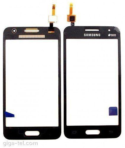 Tela Touch screen Frente  Samsung  G355 Galaxy Core 2 Duos  PRETO