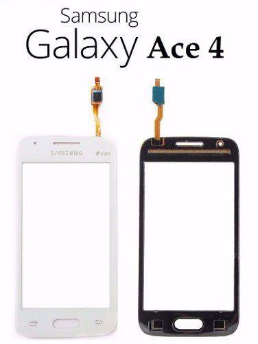 Tela Touch screen Frente   Samsung Galaxy Ace 4 Neo G318 G 318 BRANCO