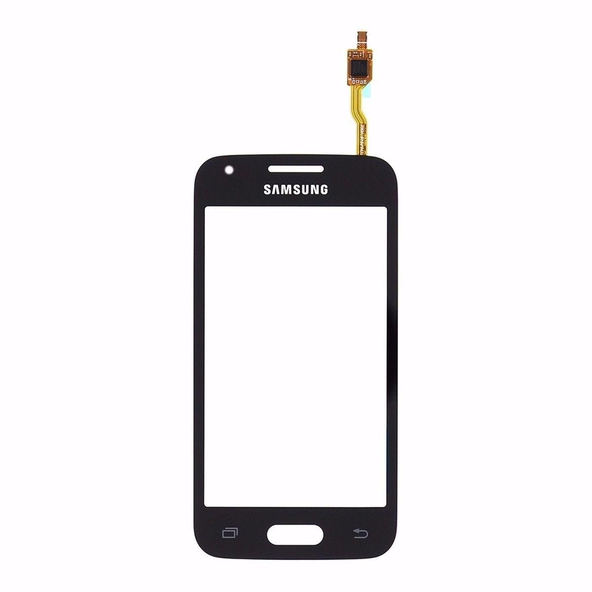 Tela Touch screen Frente   Samsung Galaxy Ace 4 Neo G318 G 318  PRETO