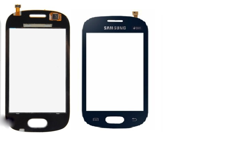 Tela Touch screen Frente  Samsung Galaxy Fame Lite Duos S6792 S6790 PRETO