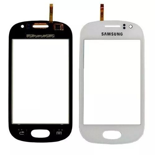 Tela Touch screen Frente   Samsung Galaxy Fame S6812 S6810 S6810p BRANCO