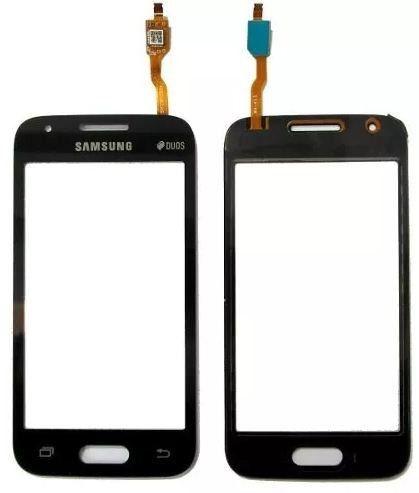 Tela Touch screen Frente   Samsung Galaxy G316 Sm-g316 Ace 4 Duos G 316 Preto