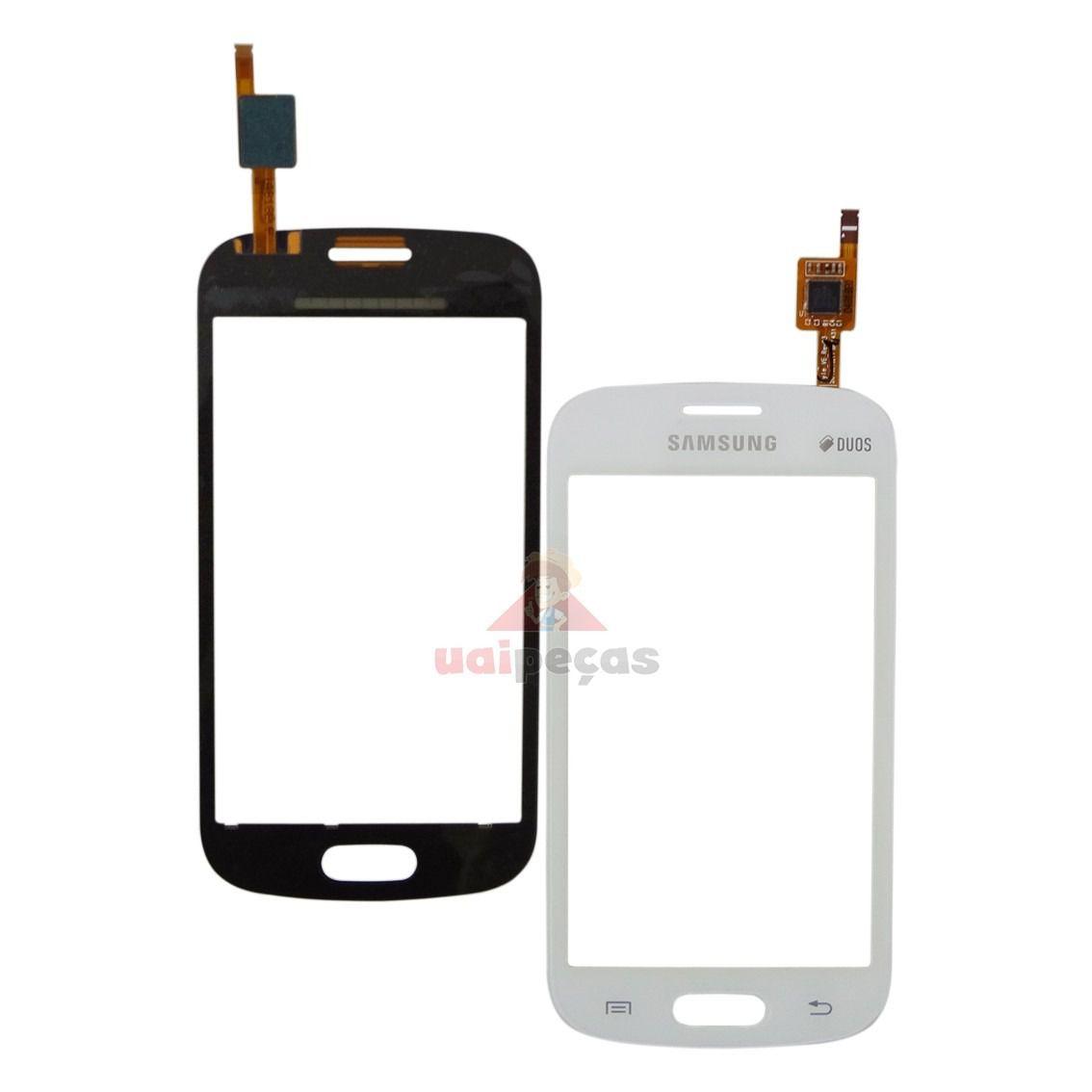Tela Touch screen Frente  Samsung  Galaxy  S7392Fresh Duos S7390 BRANCO