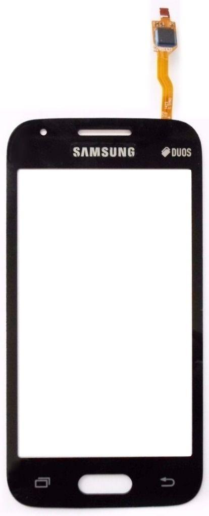 Tela Touch screen Frente  Samsung Galaxy Sm-g316 316 Ace 4 Duos PRETO