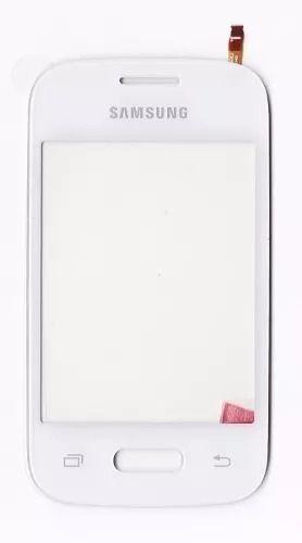 Tela Touch screen Frente  Samsung Pocket 2 G110b G110 BRANCO