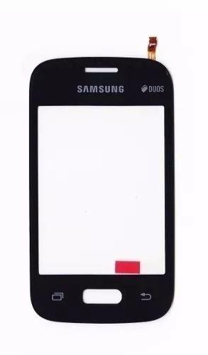 Tela Touch screen Frente  Samsung Pocket 2 G110b G110 PRETO