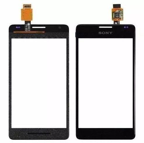 Tela Touch screen Frente   Sony Xperia E1 D2104 D2114 D2014 D2004 PRETO