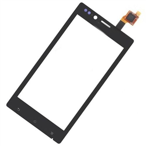 Tela Touch screen Frente  Sony Xperia J St26  St26 St26a St26i  PRETO