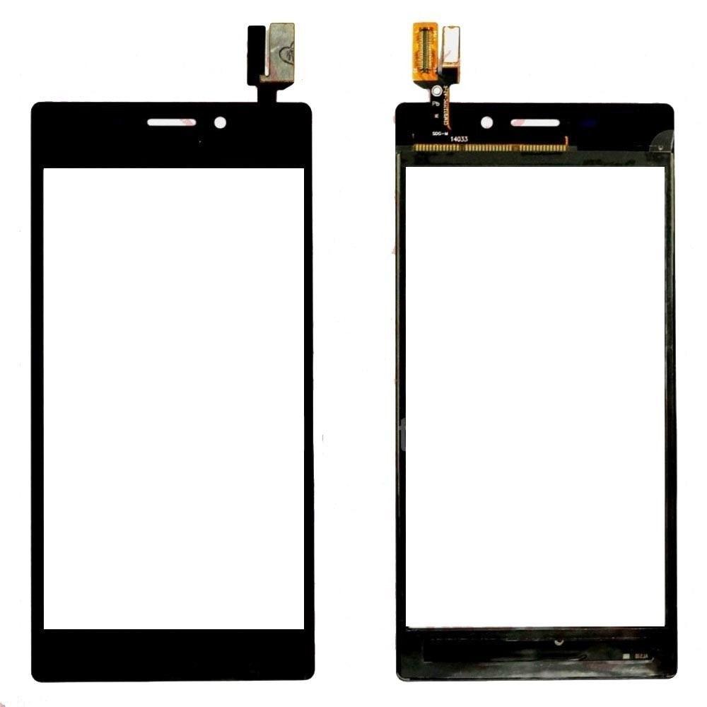 Tela Touch screen Frente   Sony Xperia M2 Preto D2302 D2303 D2305 D2306  PRETO