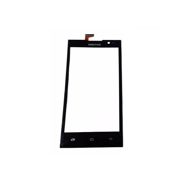 Tela Touchscreen Frente Vidro Positivo X 400 X400 Preto