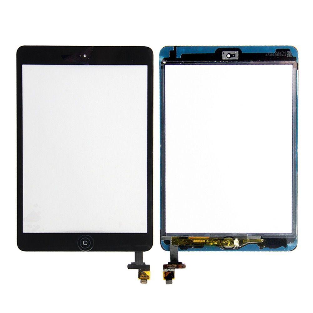 Tela Vidro Touch Screen Apple Ipad Mini 2 + Home + Fita A1489 A1490 A1491 PRETO